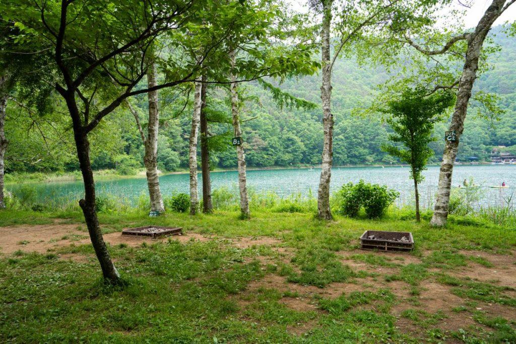 川原サイト・湖畔サイト